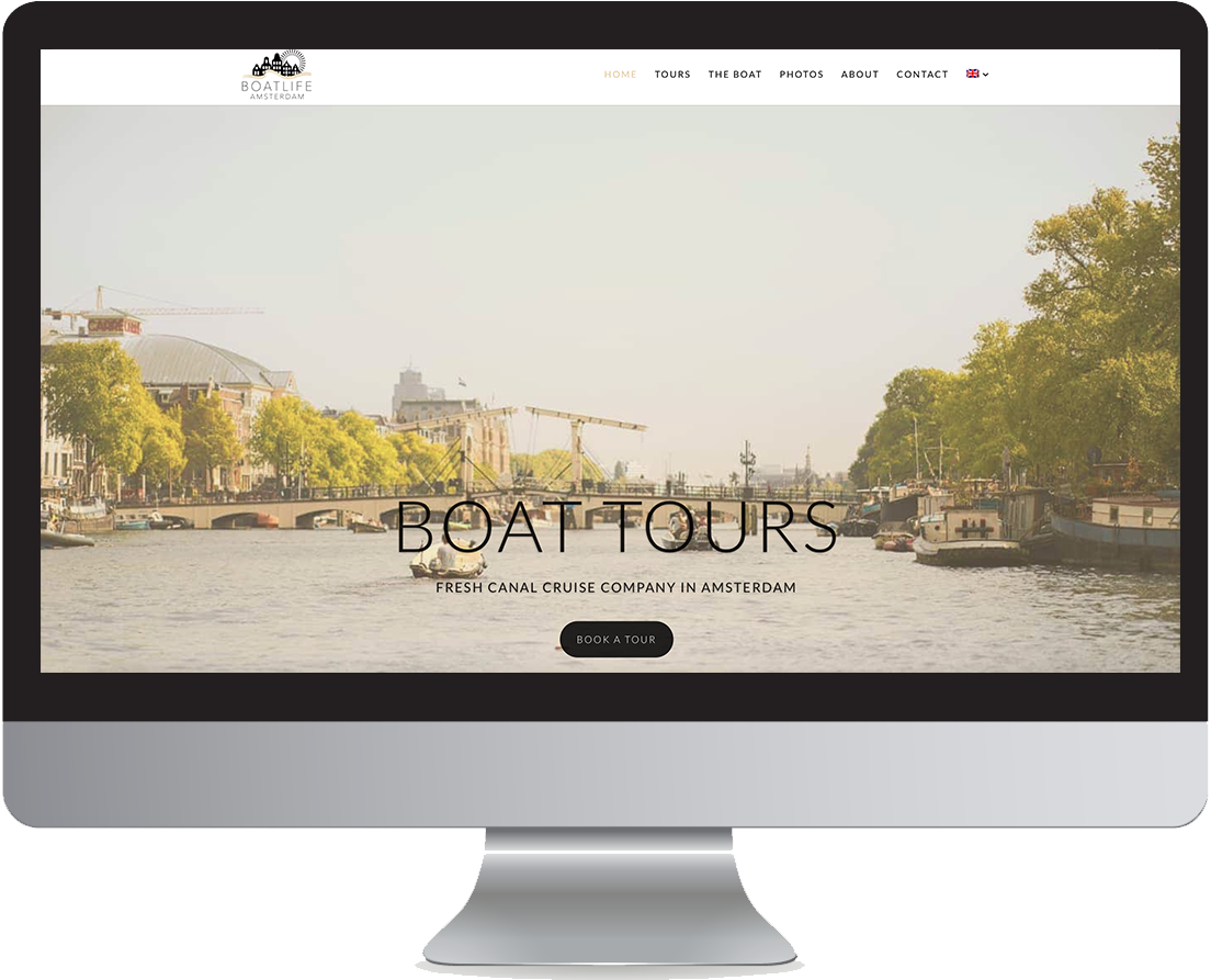 Computer boatlife amsterdam